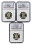 2016 S Presidential Dollar Three Coin Set NGC PF69 Ultra Cameo - Early Releases