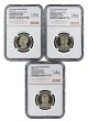 2016 S Presidential Dollar Three Coin Set NGC PF70 Ultra Cameo - ANA 125th Anniversary