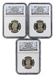 2016 S Presidential Dollar Three Coin Set NGC PF70 Ultra Cameo - Early Releases