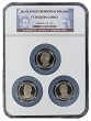 2016 S Presidential Dollar Three Coin Set NGC PF70 Ultra Cameo - Multi Holder