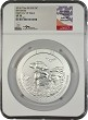 2016 P 5oz Shawnee National Forest Coin NGC SP70 John Mercanti Autographed - First Day Of Issue