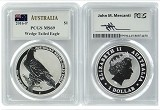 2016 Australia 1oz Silver Wedge Tailed Eagle PCGS MS69 - John Mercanti Autographed