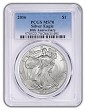 2016 1oz Silver Eagle PCGS MS70 - Blue Label