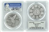 2016 Mexico 1oz Silver Onza Libertad PCGS MS70 - Verified By David Hall