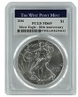 2016 1oz Silver Eagle PCGS MS69 - West Point Label
