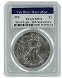 2016 1oz Silver Eagle PCGS MS70 - West Point Label