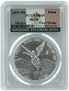 2016 Mexico 1oz Silver Onza Libertad PCGS MS69 - First Strike - Flag Label