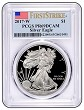 2017 W 1oz Silver Eagle Proof PCGS PR69 DCAM - First Strike  Label