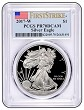 2017 W 1oz Silver Eagle Proof PCGS PR70 DCAM - First Strike Label