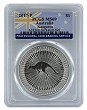 2017 Australia 1oz Silver Kangaroo PCGS MS69 - Flag Label