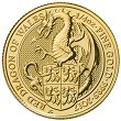 2017 Great Britain 1/4oz Gold Queen's Beast Red Dragon Of Wales Coin