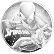 2017 Tuvalu Spiderman 1oz Silver Coin