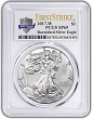 2017 W Burnished Silver Eagle PCGS SP69 - First Strike - 225th Anniversary Label