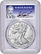 2017 W Burnished Silver Eagle PCGS SP70 - First Strike - Verified By David Hall
