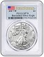 2017 W Burnished Silver Eagle PCGS SP70 - First Strike Label