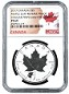 2017 Canada 1oz Silver Reverse Proof Maple Leaf w/ Cougar Privy NGC PF69 - Early Releases - Flag Label