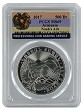 2017 Armenia 1oz Silver Noahs Ark PCGS MS69 - Flag Label