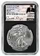2018 W Burnished Silver Eagle NGC MS70 - Early Releases - Black Core - Liberty Coin Act Label