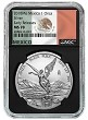 2018 Mexico 1oz Silver Onza Libertad NGC MS70 - Early Releases - Black Core - Flag Label