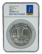 2018 P Block Island National Park 5oz Silver Coin NGC SP69 - First Day Issue