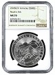 2018 Armenia 1oz Silver Noahs Ark NGC MS70 - Brown Label