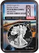 2018 S 1oz Silver Eagle Proof NGC PF69 UC - First Day Issue - Bridge Core - Presale