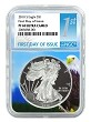 2018 S 1oz Silver Eagle Proof NGC PF69 UC - Eagle Core - First Day Issue Label