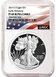 2018 S 1oz Silver Eagle Proof NGC PF69 UC - Early Releases - White Core - Flag Label