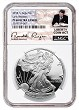 2018 S 1oz Silver Eagle Proof NGC PF69 UC - Early Releases - White Core - Liberty Coin Act