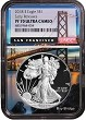 2018 S 1oz Silver Eagle Proof NGC PF70 UC - Early Releases - Bridge Core