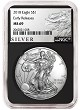 2018 1oz Silver American Eagle NGC MS69 - Early Releases - Liberty Label - Black Core - Presale