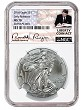2018 1oz Silver American Eagle NGC MS70 - Early Releases - Liberty Coin Act Label