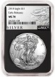 2018 1oz Silver American Eagle NGC MS70 - Early Releases - Liberty Label - Black Core - Presale