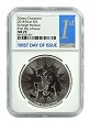 2018 Niue Disney Scrooge McDuck 1oz Silver NGC MS70 First Day Issue
