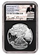 2018 W 1oz Silver Eagle Proof NGC PF69 Ultra Cameo - Early Releases - Liberty Coin Act Label - Black Core