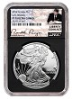 2018 W 1oz Silver Eagle Proof NGC PF70 Ultra Cameo - Early Releases - Liberty Coin Act Label - Black Core