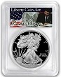 2018 S 1oz Silver Eagle Proof PCGS PR69 DCAM - First Strike - Liberty Coin Act Label - Presale