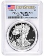 2018 S 1oz Silver Eagle Proof PCGS PR69 DCAM - First Strike Label