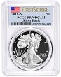 2018 S 1oz Silver Eagle Proof PCGS PR70 DCAM - First Strike Label