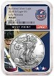 2018 W Burnished Silver Eagle NGC MS69 - Early Releases - West Point Core