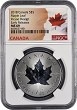 2018 Canada 1oz Incuse Design Silver Maple Leaf NGC MS69 - Early Releases - Flag Label