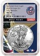 2018 W Burnished Silver Eagle NGC MS70 - Early Releases - West Point Core