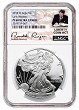 2018 W 1oz Silver Eagle Proof NGC PF69 Ultra Cameo - Early Releases - Liberty Coin Act Label