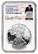 2018 W 1oz Silver Eagle Proof NGC PF70 Ultra Cameo - Early Releases - Liberty Coin Act Label
