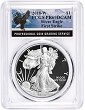2018 W 1oz Silver Eagle Proof PCGS PR69 DCAM - First Strike - Eagle Label
