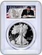 2018 W 1oz Silver Eagle Proof PCGS PR69 DCAM - First Strike - Liberty Coin Act Label