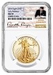 2019 $50 Gold Eagle NGC MS70 Early Releases - Gold Coin Act Label