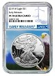 2019 W 1oz Silver Eagle Proof NGC PF70 Ultra Cameo - Eagle Core - Early Releases Label