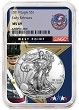 2019 1oz Silver American Eagle NGC MS69 - Early Releases - West Point Core