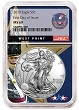 2019 1oz Silver American Eagle NGC MS69 - First Day Issue - West Point Core - PRESALE
